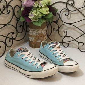 c43ae9789ff Converse Shoes - CONVERSE ALL⭐️STAR Floral🌸   Pastel Low Tops